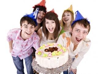 день рождения подростка