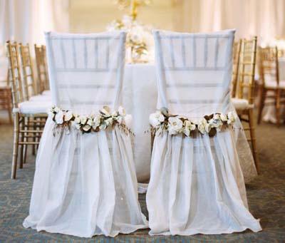 Свадебные стулья от Корделии